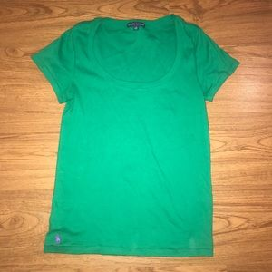 Ralph Lauren Green Short Sleeve Tee